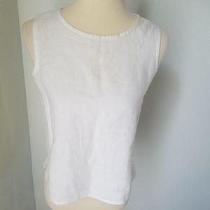 Eileen Fisher Linen Shell Shirt